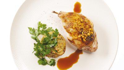 Cuisse de canard de barbarie et gratin dauphinois à la crème