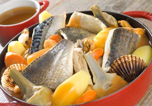 Recette : Cotriade de poisson à l'armoricaine - EpiSaveurs