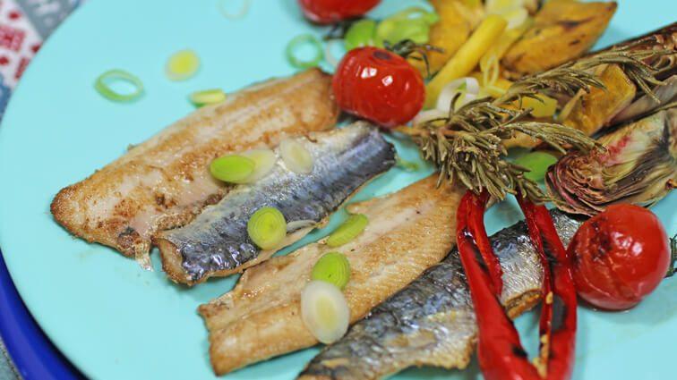 Recette : Sardines fraîches à la plancha, banane plantain et sa suite… - TerreAzur