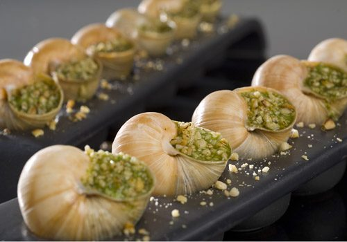 Recette : Escargots de Bourgogne et son beurre aux pignons de pin - EpiSaveurs