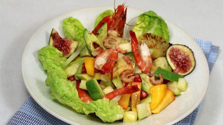 Recette : Crevettes aux saveurs des îles - TerreAzur