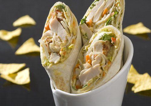 Recette : Wrap de poulet et ses légumes au curry - EpiSaveurs