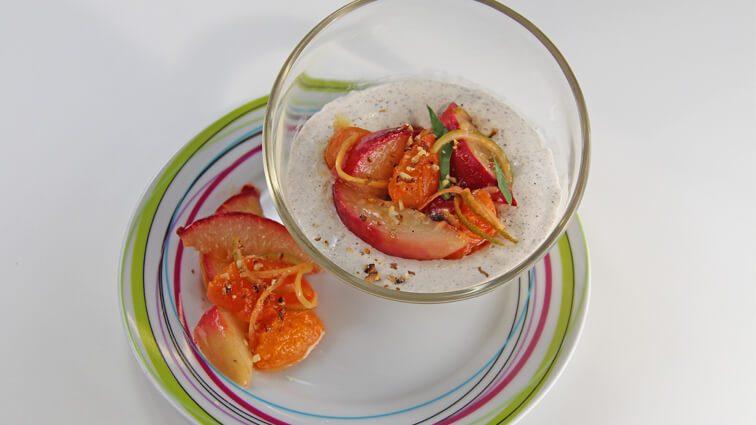 Recette : Panna cotta, giboulée pêch'abricot - TerreAzur