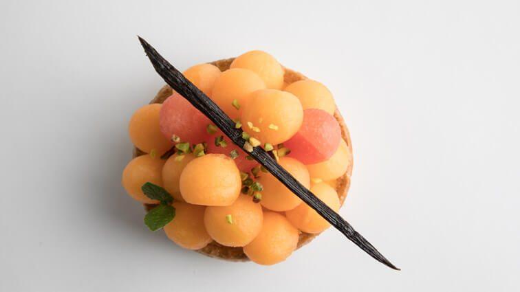 Recette : Tartelette fraîcheur de melon - TerreAzur