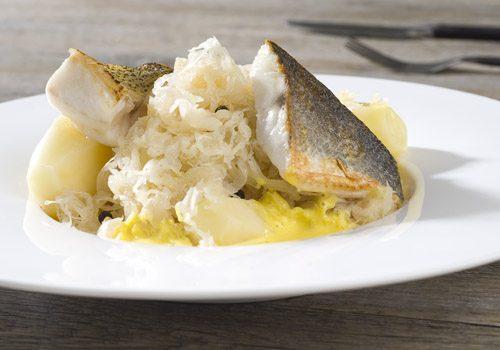 Recette : Choucroute de la mer au beurre safrané - EpiSaveurs