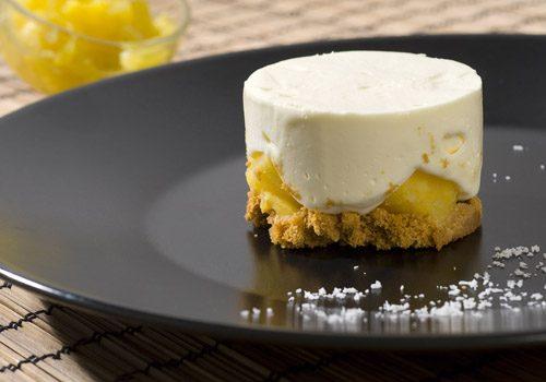 Recette : Cheesecake coco ananas - EpiSaveurs