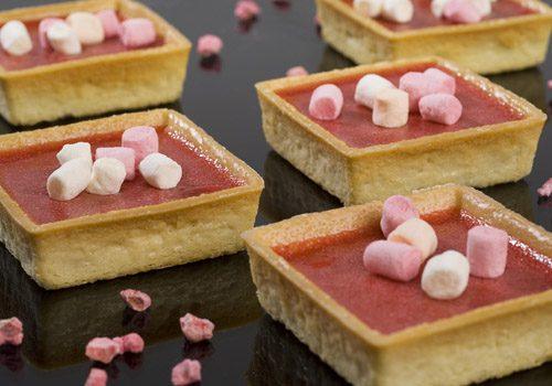 Recette : Tartelettes aux pralines rose - EpiSaveurs