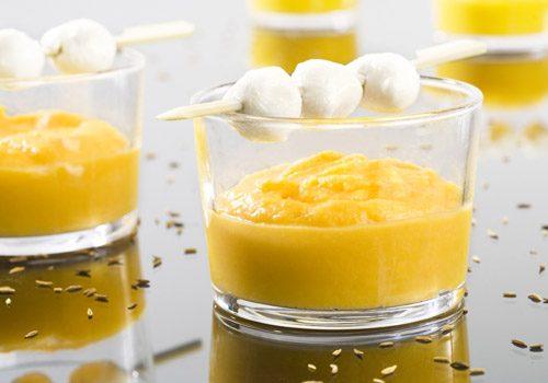 Recette : Mousseline de Saint-Jacques et crème de carotte au cumin - EpiSaveurs