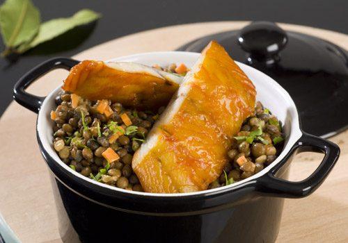 Recette : Cassolette de lentilles au haddock fumé - EpiSaveurs