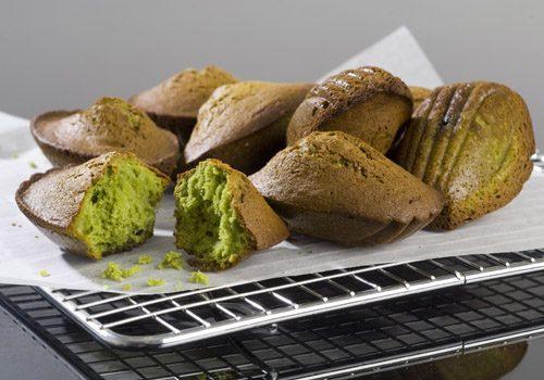 Recette : Madeleine à la pistache et aux griottes - EpiSaveurs