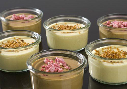 Recette : Assortiment de pots de crème - EpiSaveurs