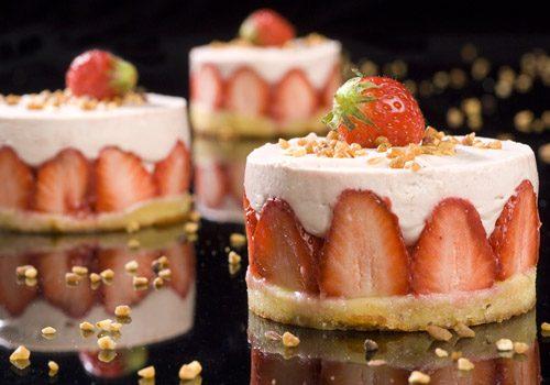 Recette : Entremet à la fraise - EpiSaveurs