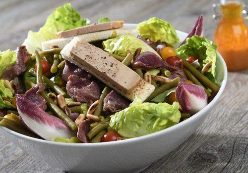 Recette : Salade Périgourdine - EpiSaveurs