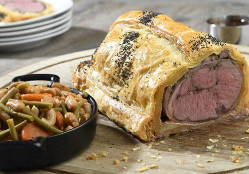 Recette : Selle d'agneau en croute et Mogettes de Vendée - EpiSaveurs