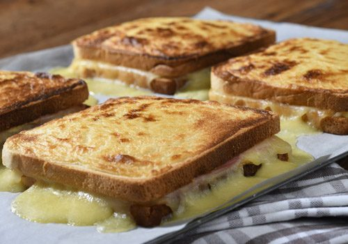 Recette : Croque Monsieur gourmand - EpiSaveurs