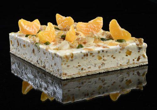 Recette : L'agrume mandarine nougat - EpiSaveurs