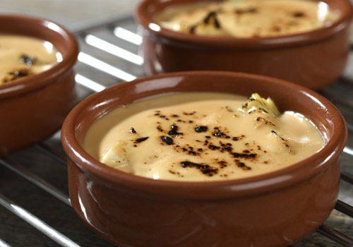 Recette : Crème brulée artichaut et foie gras - EpiSaveurs