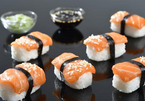 Recette : Nigiri saumon sésame - EpiSaveurs
