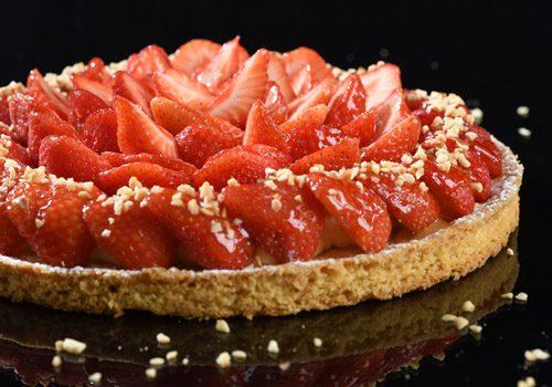 Recette : Tarte aux  fraises - EpiSaveurs