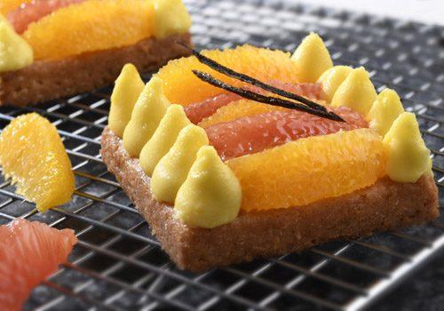 Recette : Duo d'agrumes et mousse citron-vanille - EpiSaveurs