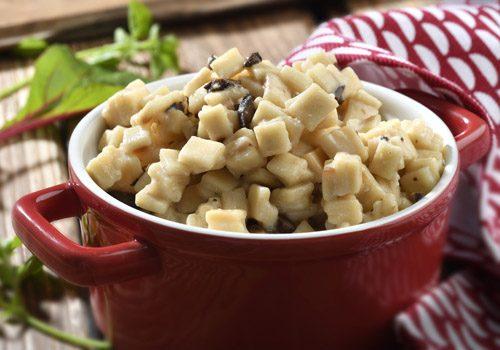 Recette : Crozet crémeux à la truffe noire - EpiSaveurs