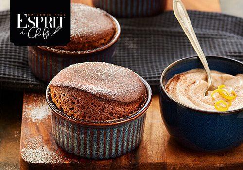 Recette : Soufflé au chocolat et Tonka - EpiSaveurs