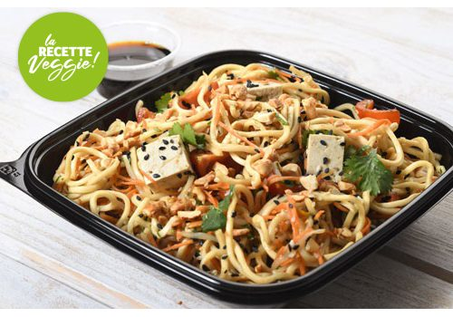 Recette : Asian noodle salade - EpiSaveurs