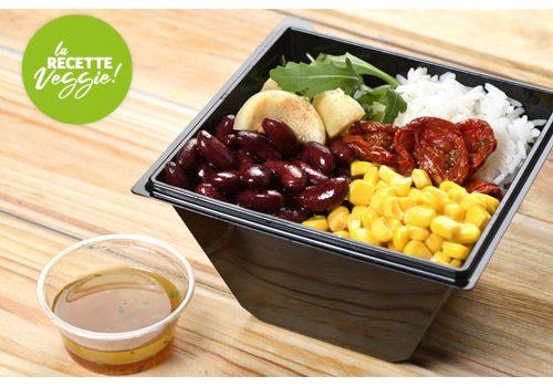 Recette : Salade de riz et légumes croquants - EpiSaveurs