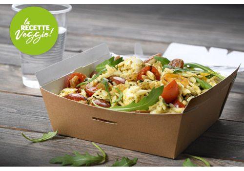 Recette : Salade de pâtes au pesto vert - EpiSaveurs