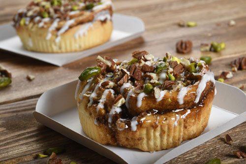 Recette : Cinnamon roll pistache et noix de pécan - EpiSaveurs
