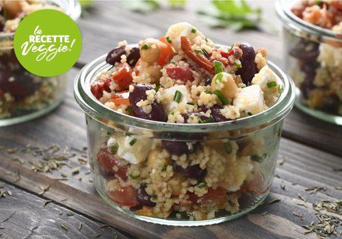 Recette : Salade de légumineuse à la Thessalonique - EpiSaveurs