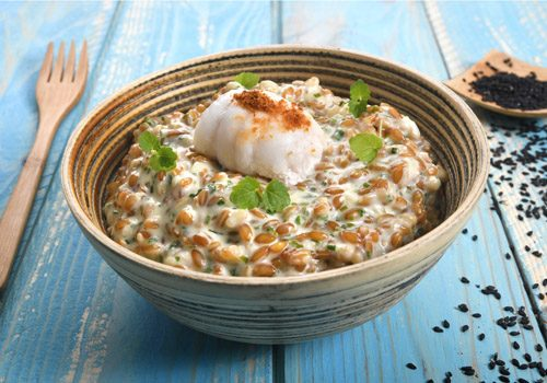 Recette : Filet de sole au court-bouillon, risotto d'épeautre, jus de homard réduit - EpiSaveurs