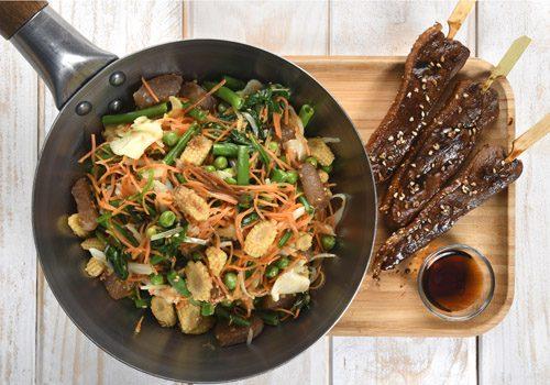 Recette : Filet de canard teppanyaki, légumes sautés hoisin et sésame - EpiSaveurs