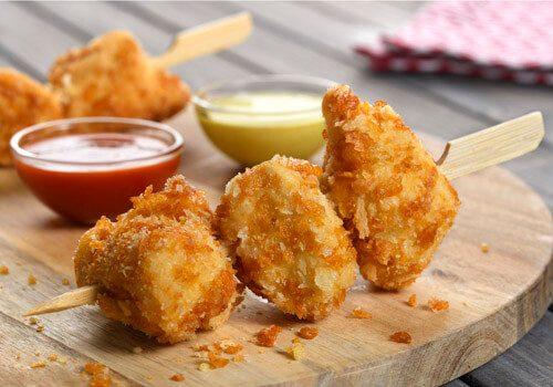 Recette : Brochette de poulet croustillant - EpiSaveurs