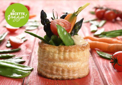 Recette : Feuilleté de légumes veggie - EpiSaveurs