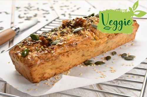 Recette : Cake aux graines et tomates séchées - EpiSaveurs