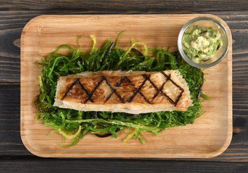 Recette : Filet de turbo grillé, béarnaise aux algues - EpiSaveurs