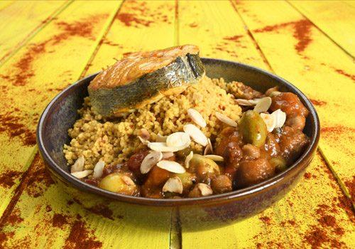 Recette : Darne de poisson aux olives comme un tajine - EpiSaveurs