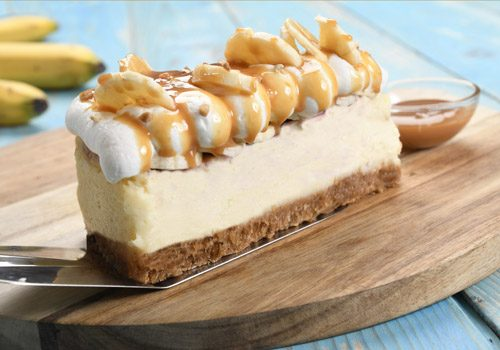 Recette : Cheesecake caramel-banane - EpiSaveurs
