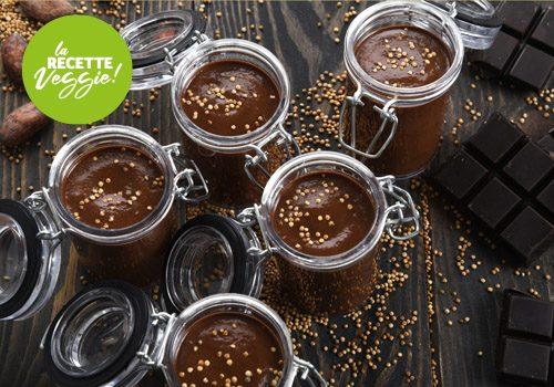 Recette : Mousse au chocolat au sirop d'épices et quinoa grillé - EpiSaveurs