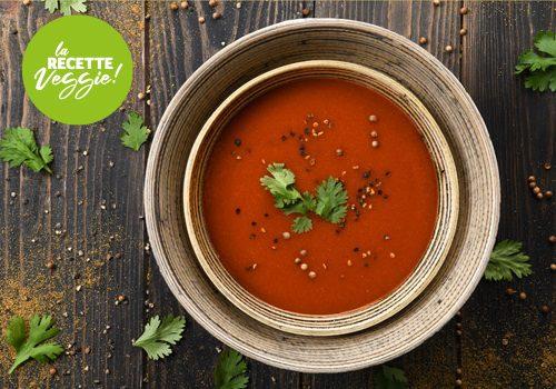 Recette : Velouté de piquillos tomate et cumin - EpiSaveurs