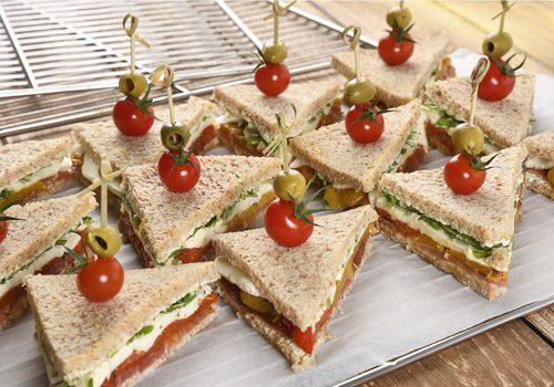 Recette : Club sandwich aux légumes du soleil - EpiSaveurs