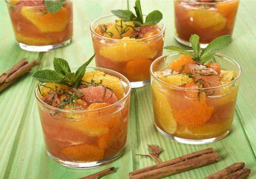Recette : Salade d'agrumes aux parfums orientaux - EpiSaveurs