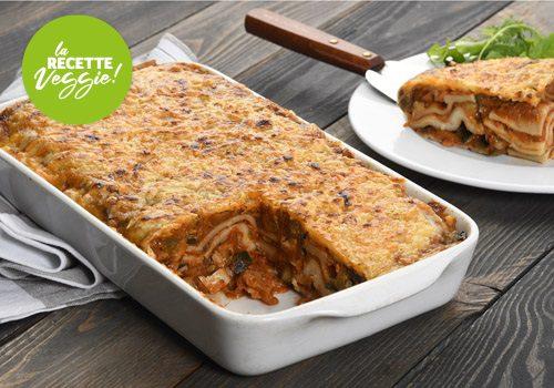 Recette : Lasagne aubergines courgettes grillées - EpiSaveurs