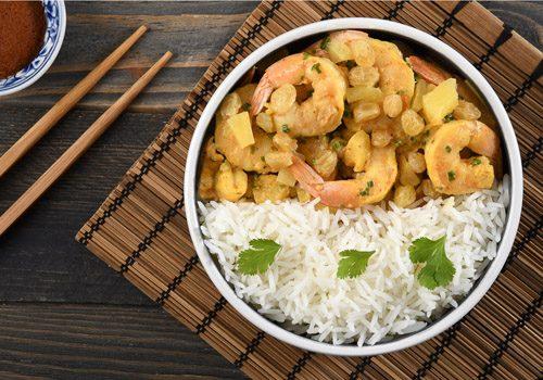 Recette : Curry de crevettes - EpiSaveurs