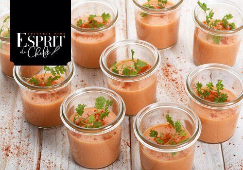 Recette : Panna cotta de carotte au paprika fumé - EpiSaveurs