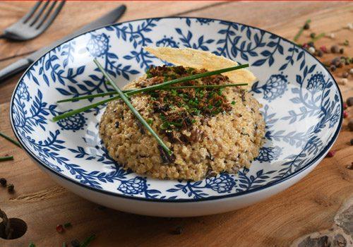Recette : Quinoa en risotto - EpiSaveurs