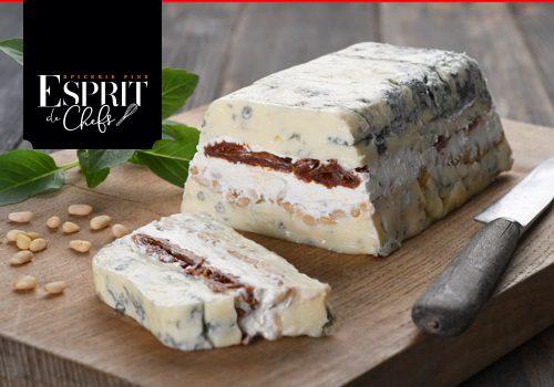 Recette : Terrine de gorgonzola et mascarpone aux parfums de Provence - EpiSaveurs