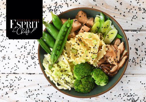 Recette : Poke Bowl de Mafaldines et tofu - EpiSaveurs