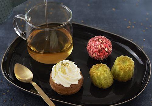 Recette : Thé & instant gourmand : Mini cannelés au thé matcha - EpiSaveurs